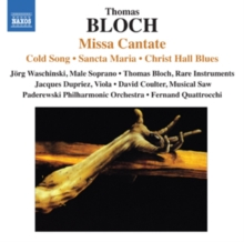 Thomas Bloch: Missa Cantate, CD / Album Cd