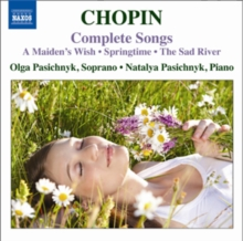 Frederic Chopin: Complete Songs, CD / Album Cd
