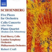 Five Pieces for Orchestra (Craft, Po, Lso), CD / Album Cd