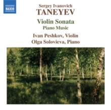 Violin Sonata/Piano Music, CD / Album Cd