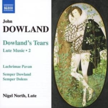 Dowland's Tears: Lute Music Vol. 2 (North), CD / Album Cd