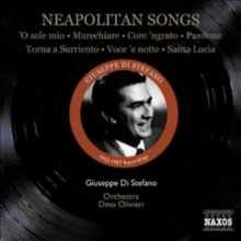 Neapolitan Songs: O Sole Mio/Marechiare/Core Ngrato/Passione/..., CD / Album Cd