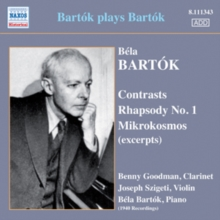 Bartok Plays Bartok, CD / Album Cd