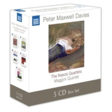 Peter Maxwell Davies: The Naxos Quartets, CD / Album Cd