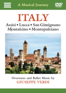 A   Musical Journey: Italy - Assisi, Lucca, San Gimignano..., DVD DVD