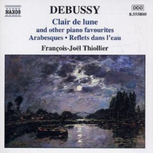 Clair De Lune and Other Piano Favourites (Thiollier), CD / Album Cd
