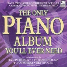 The Only Piano Album You'll Ever Need, CD / Album Cd