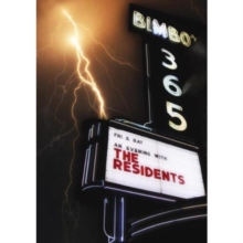 The Residents: An Evening With The Residents, DVD DVD