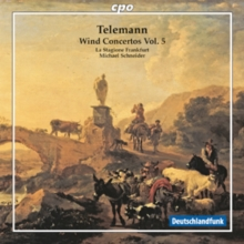 Telemann: Wind Concertos, CD / Album Cd