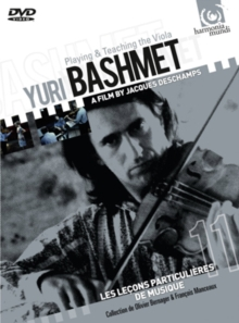 Yuri Bashmet: Playing and Teaching the Viola, DVD DVD