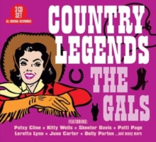 Country Legends: The Gals, CD / Album Cd
