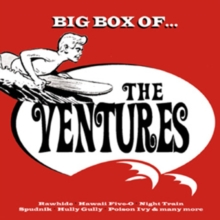 Big Box of the Ventures, CD / Box Set Cd