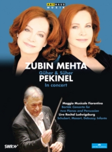 Güher and Süher Pekinel: In Concert, DVD  DVD