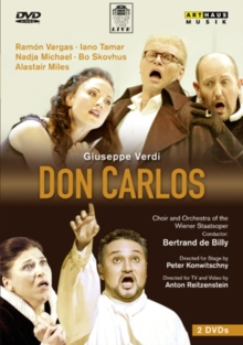 Don Carlos: Wiener Staatsoper (Bertrand De Billy), DVD  DVD