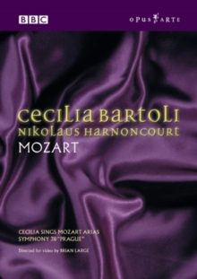 Cecilia Bartoli Sings Mozart and Haydn, DVD  DVD