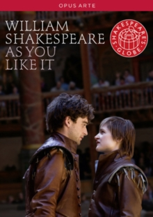 As You Like It: Globe Theatre, DVD  DVD