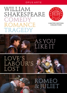 Shakespeare's Globe: Comedy, Romance, Tragedy, DVD  DVD
