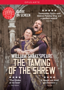 The Taming of the Shrew: Shakespeare's Globe, DVD DVD
