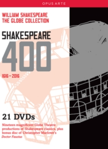 The Globe Collection - Shakespeare 400 1616-2016, DVD DVD