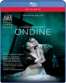 Ondine: Royal Ballet, Blu-ray BluRay