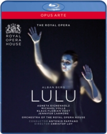 Lulu: Royal Opera House (Pappano), Blu-ray  BluRay