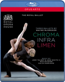 McGregor: Three Ballets (Royal Ballet), Blu-ray  BluRay