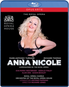Anna Nicole: Royal Opera House (Pappano), Blu-ray BluRay