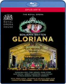 Gloriana: Royal Opera House (Daniel), Blu-ray BluRay