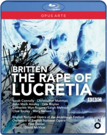 The Rape of Lucretia: English National Opera (Daniel), Blu-ray BluRay