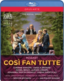 Così Fan Tutte: Royal Opera House (Bychkov), Blu-ray BluRay