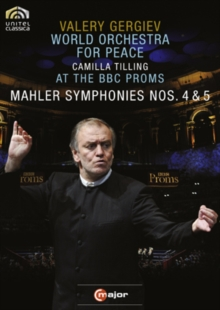 Mahler: Symphonies Nos. 4 and 5, DVD  DVD