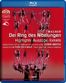 Der Ring Des Nibelungen: Highlights (La Fura Dels Baus), Blu-ray  BluRay