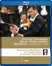 Beethoven: Symphonies 4, 5 and 6 (Thielemann), Blu-ray  BluRay