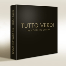 Tutto Verdi: The Complete Operas, Blu-ray  BluRay