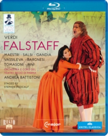 Falstaff: Teatro Regio di Parma (Battistoni), Blu-ray  BluRay