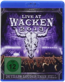 Live at Wacken 2013, Blu-ray  BluRay