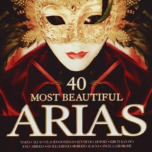 40 Most Beautiful Arias, CD / Album Cd