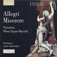 Allegri Miserere, CD / Album Cd