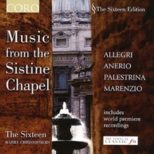 Music from the Sistine Chapel (Christophers, the Sixteen), CD / Album Cd