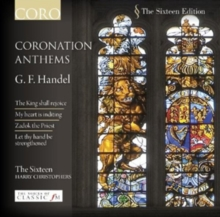 G.F. Handel: Coronation Anthems, CD / Album Cd