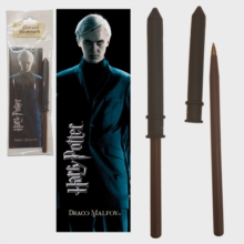 Draco Malfoy Wand Pen And Bookmark, Paperback Book