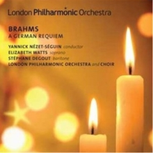 Brahms: A German Requiem, CD / Album Cd