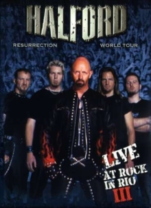 Halford: Resurrection World Tour - Live at Rock in Rio III, DVD  DVD