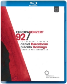 Berliner Philharmoniker: European Concert 1992, Blu-ray BluRay