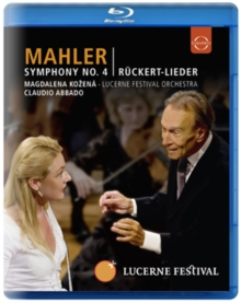 Mahler: Symphony No.4 (Abbado), Blu-ray  BluRay