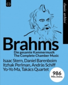 Brahms: The Complete Chamber Music, Blu-ray BluRay