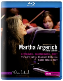 Martha Argerich: Live at Verbier Festival, Blu-ray  BluRay