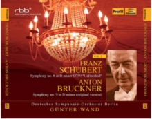 Franz Schubert: Symphony No. 8 in B Minor, D759, 'Unfinished'/..., CD / Album Cd