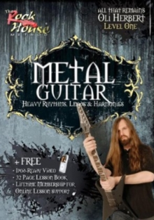 Metal Guitar: Heavy Rhythms, Leads, Harmonies - Level 1, DVD  DVD
