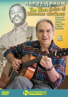 Happy Traum Teaches the Blues Guitar of Brownie McGhee, DVD  DVD